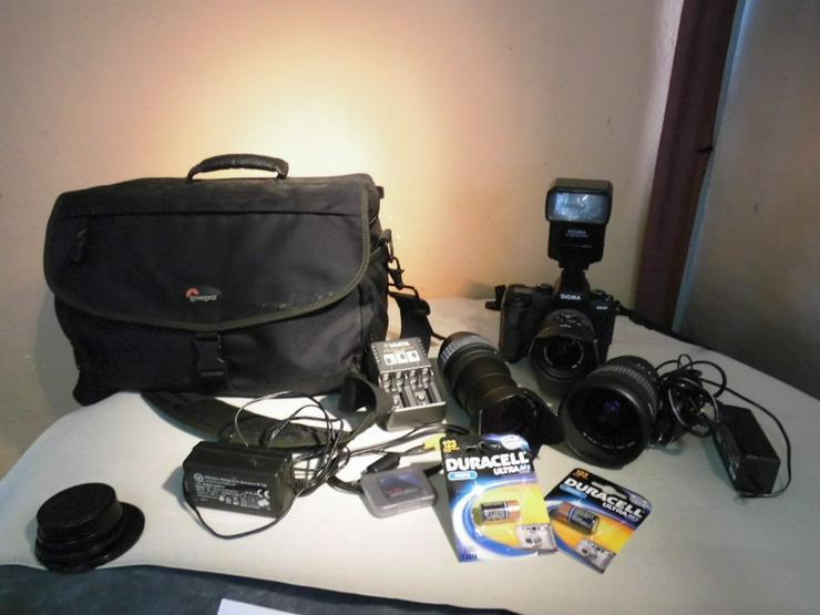Digitales Kameraset Sigma SD 9, 9- teilig / 3 - Weitere - Bild 1