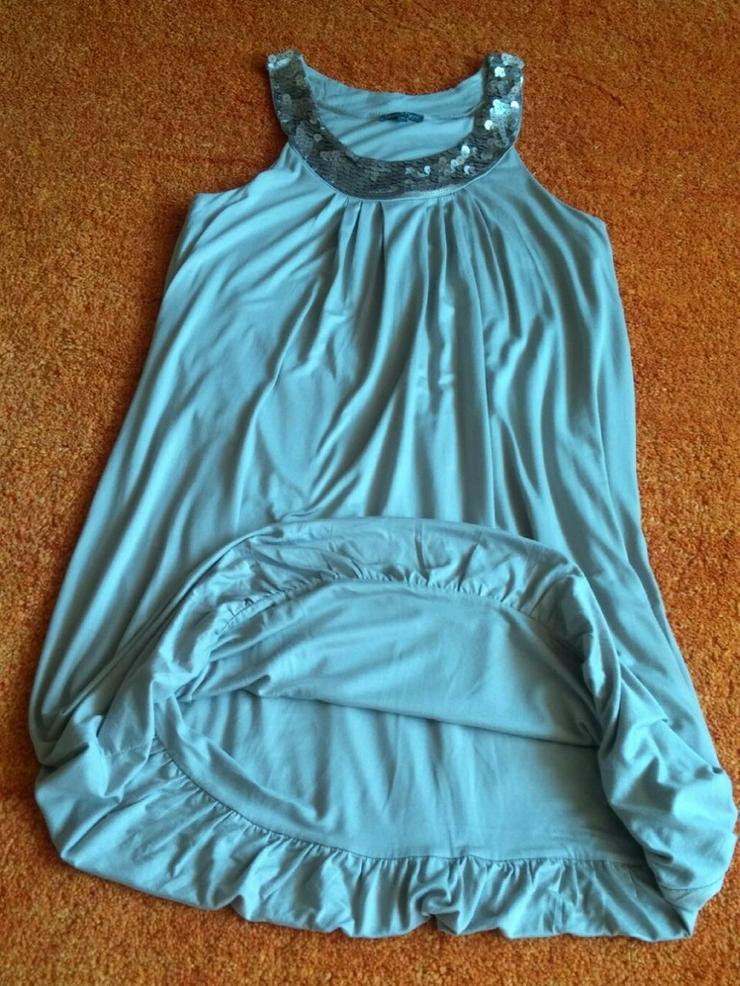 Damen Kleid Ärmellos Pailetten Gr.M NW