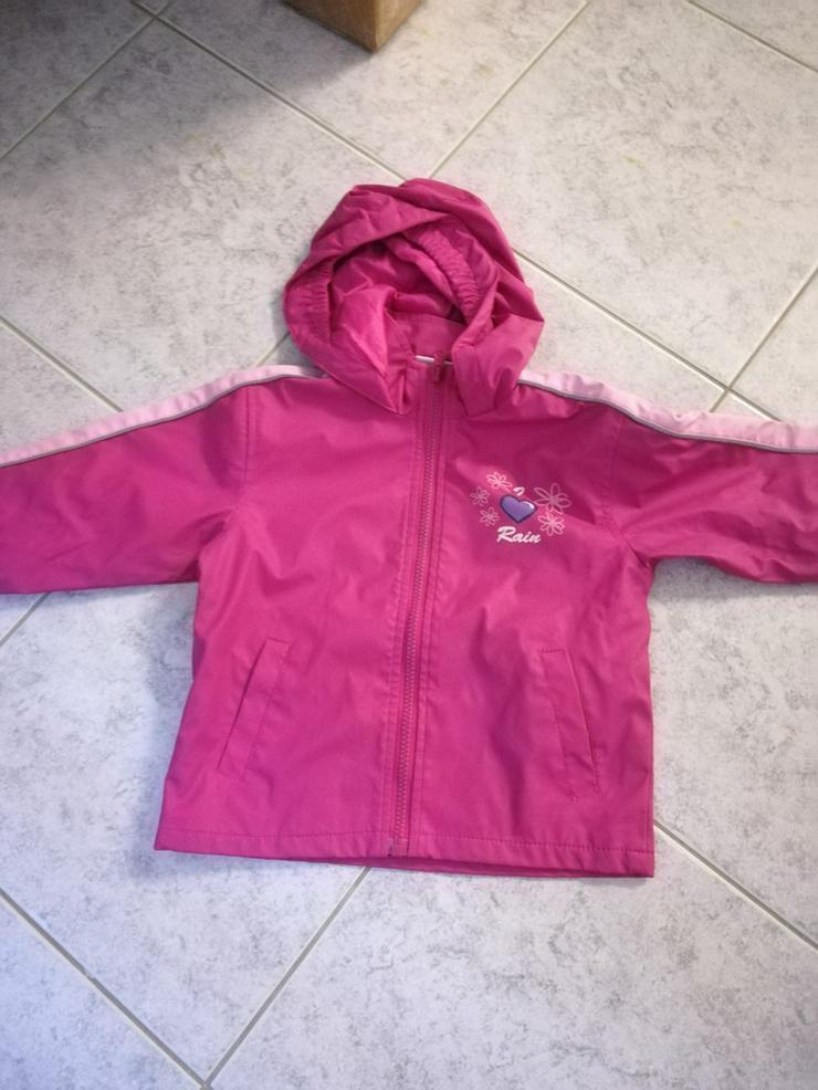 Regenjacke Gr 92 - Schneeanzüge, Winterjacken & Regenbekleidung - Bild 1