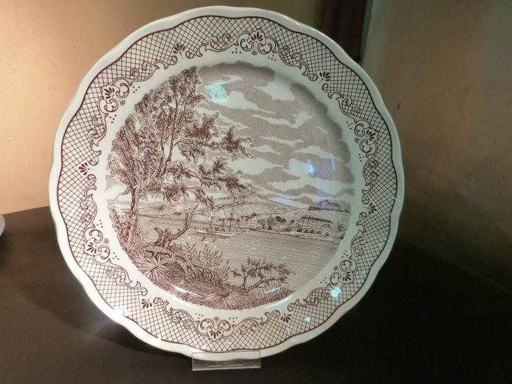 Großer Keramik Teller N. FONTEBASSO, Italien / - Teller - Bild 1