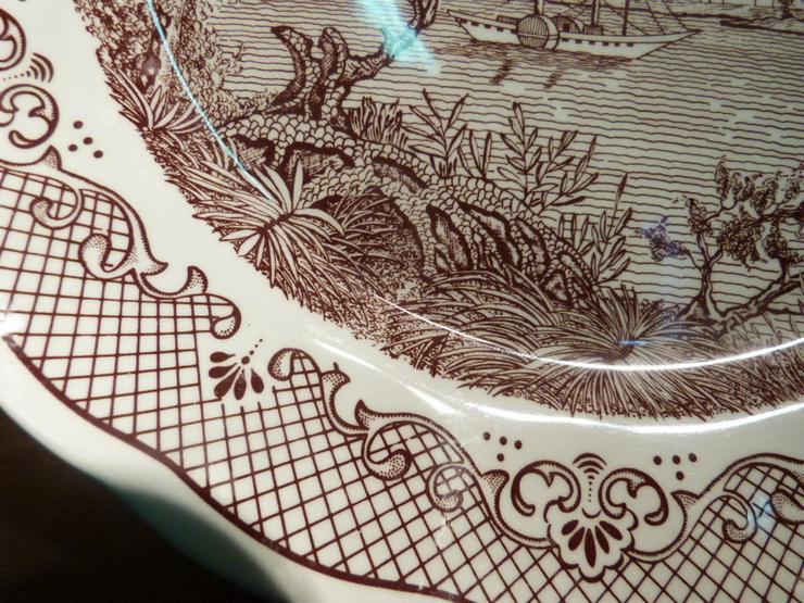 Bild 3: Großer Keramik Teller N. FONTEBASSO, Italien /