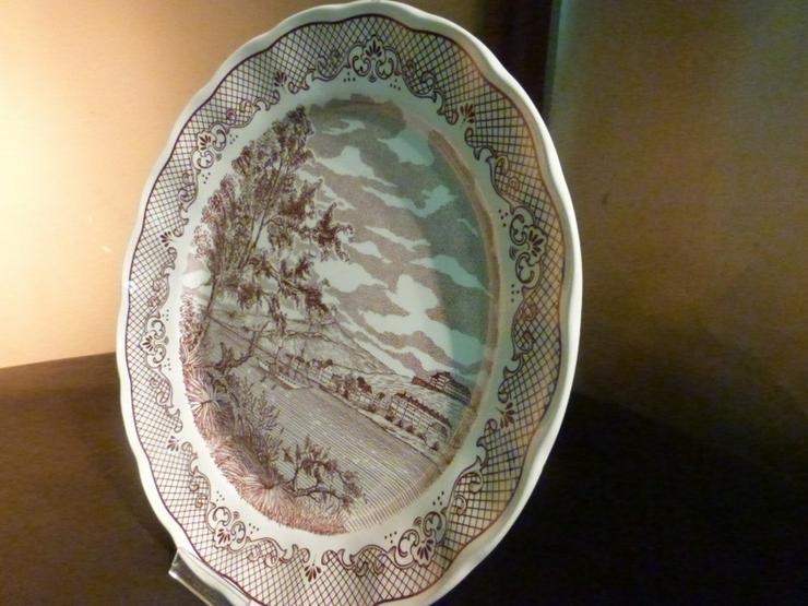 Bild 4: Großer Keramik Teller N. FONTEBASSO, Italien /