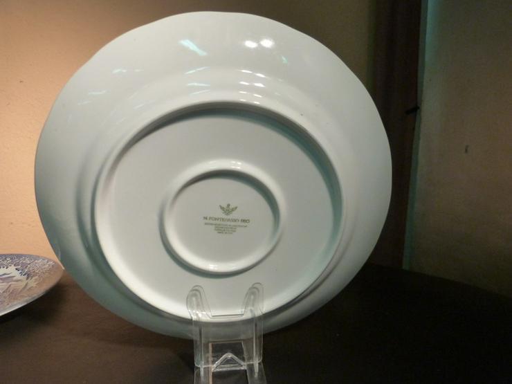Bild 5: Großer Keramik Teller N. FONTEBASSO, Italien /