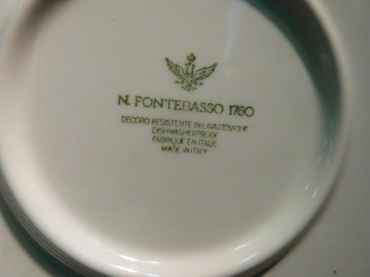 Bild 6: Großer Keramik Teller N. FONTEBASSO, Italien /