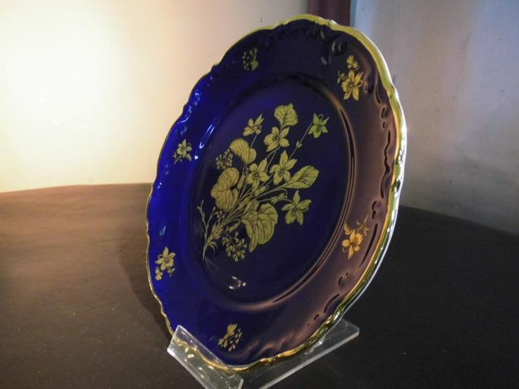 Bild 2: MITTERTEICH Kuchenteller 19,5cm / kobaltblau +