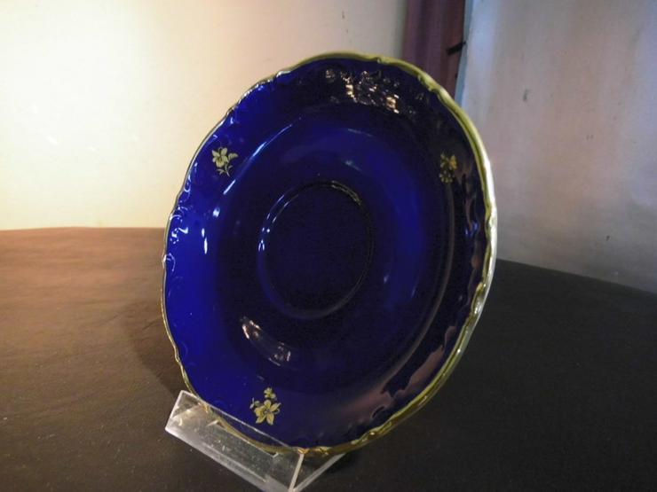 Bild 2: MITTERTEICH Untertasse 14,5cm / kobaltblau + G