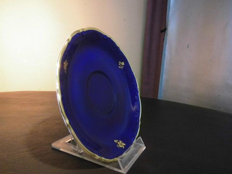 Bild 6: MITTERTEICH Untertasse 14,5cm / kobaltblau + G