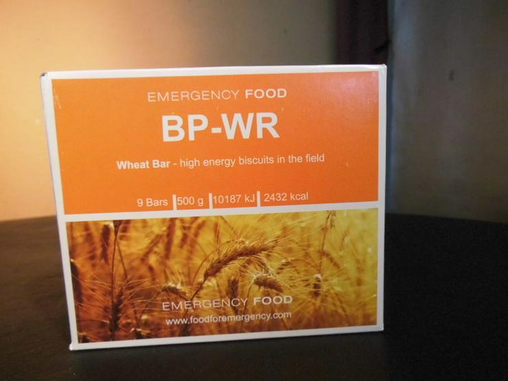 Emergency Food BP-WR Weizenriegel 500g, 9 Rieg