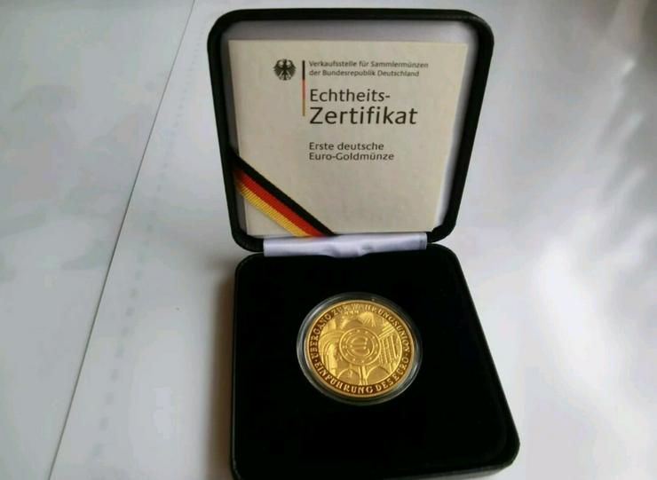 200€ Goldmünze Prägestätte J - Euros - Bild 1