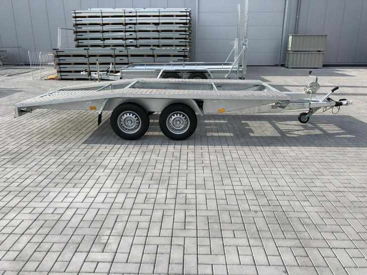 Bild 2: Autotransporter Auto Anhänger KFZ Hänger 2700kg
