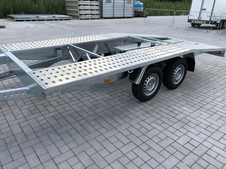 Bild 5: Autotransporter Auto Anhänger KFZ Hänger 2700kg