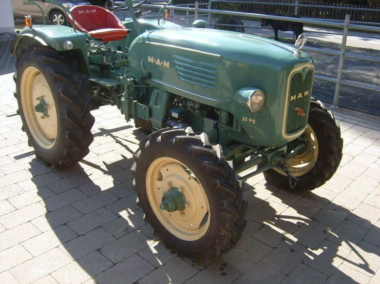 MAN 4L1 Schlepper Traktor Ackerdiesel