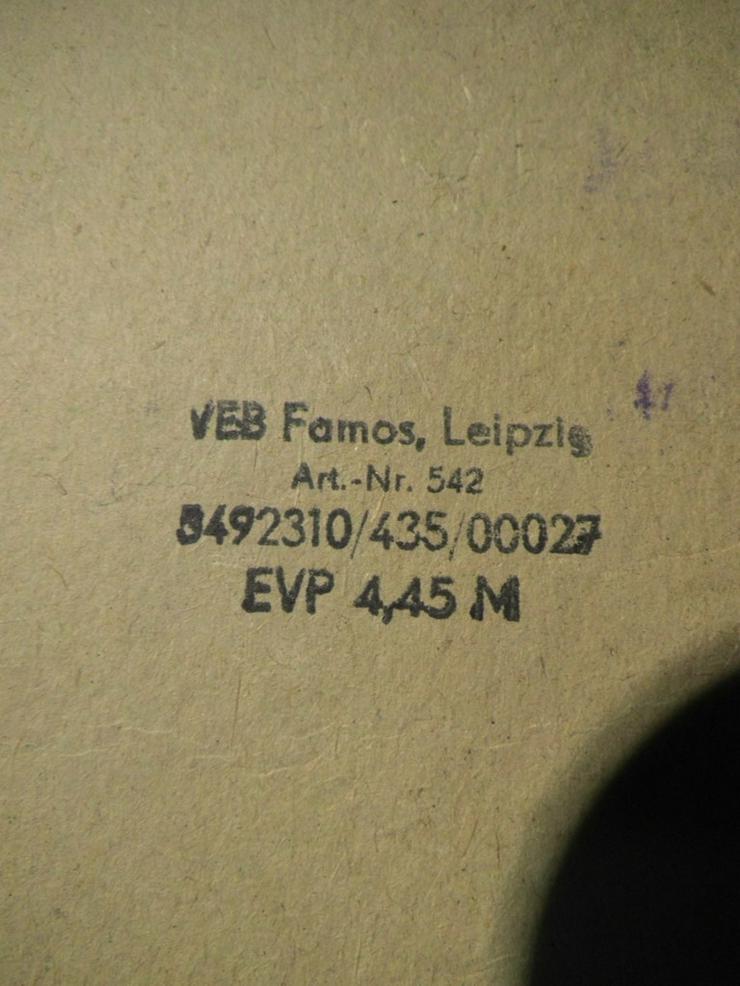Bild 11: DDR Stempelspiel Teddybären Nr. 542 / VEB Famo