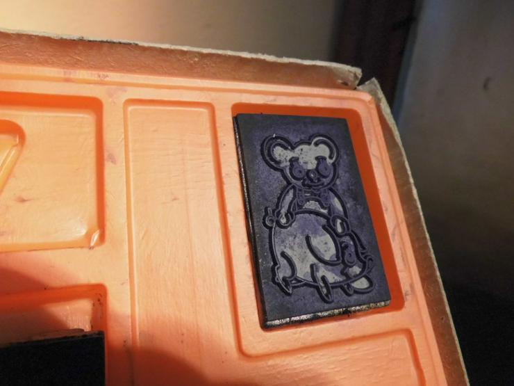 Bild 3: DDR Stempelspiel Teddybären Nr. 542 / VEB Famo