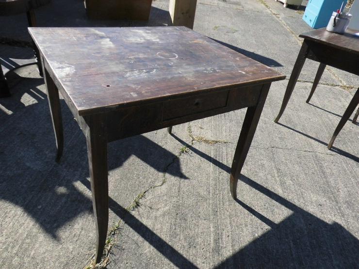 Antiker Schreibtisch um 1850 Spätbiedermeier / - Weitere - Bild 1