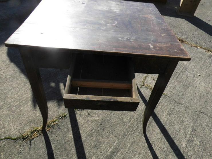 Bild 2: Antiker Schreibtisch um 1850 Spätbiedermeier /