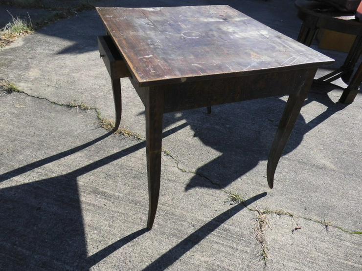 Bild 3: Antiker Schreibtisch um 1850 Spätbiedermeier /