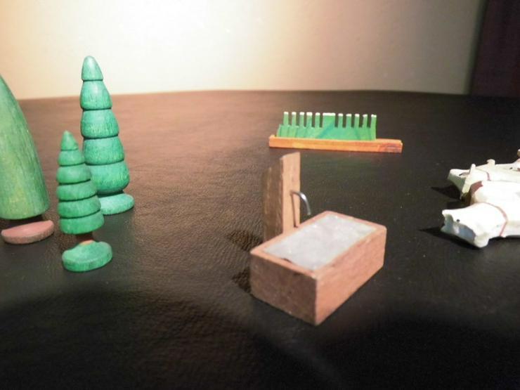 Bild 4: 29teiliges Konvolut Holzspielzeug, z.B. Tiere,