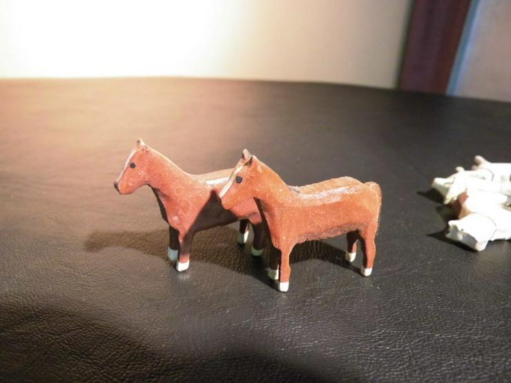 Bild 5: 29teiliges Konvolut Holzspielzeug, z.B. Tiere,