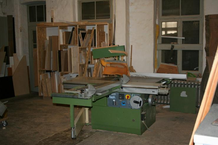 Vermiete 2 Arbeitsplätze in meiner Tischlerei - Büro & Gewerbeflächen mieten - Bild 1