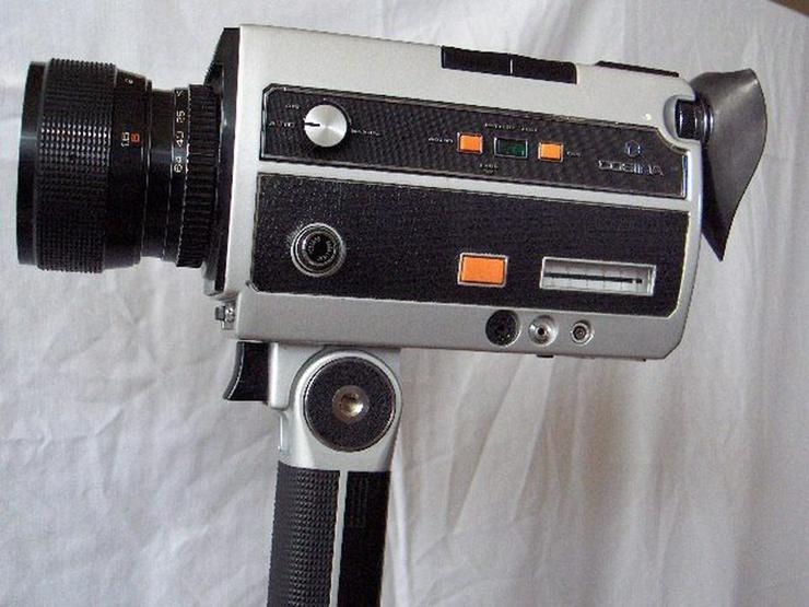 Super 8 Kamera Cosina SM 2000 + Filmleuchte