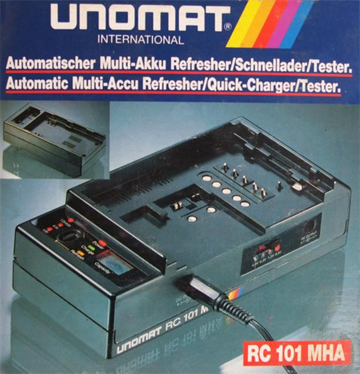 Universal Akku-Lade-Netzteil Unomat RC 101 MHA