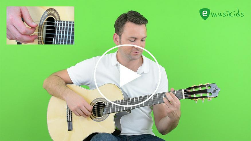 Gitarre lernen mit Online-Lerncenter emusikids