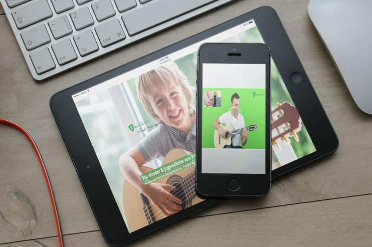 Bild 3: Gitarre lernen mit Online-Lerncenter emusikids