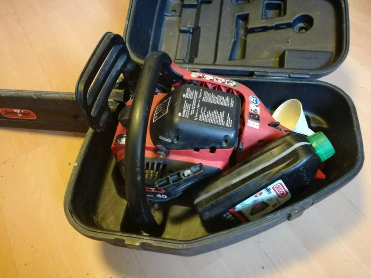 Bild 6: Motorkettensäge ProViel PVBK40 im Koffer