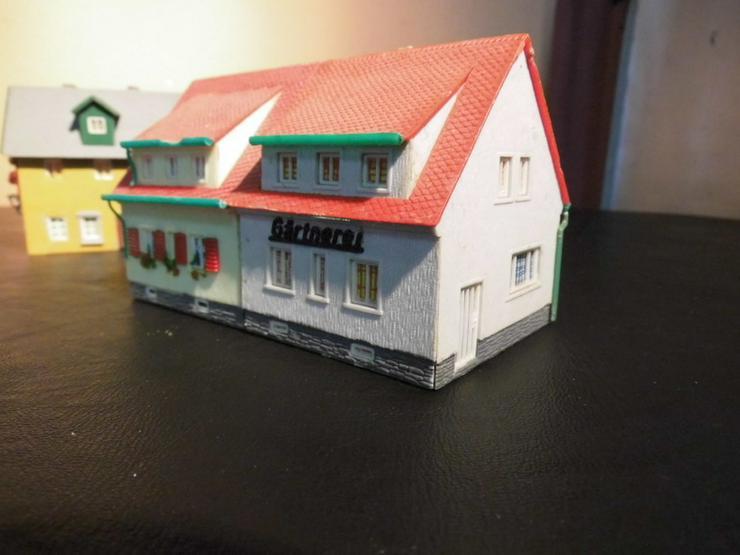 Bild 2: 5teiliges Konvolut Häuser für Modelleisenbahn