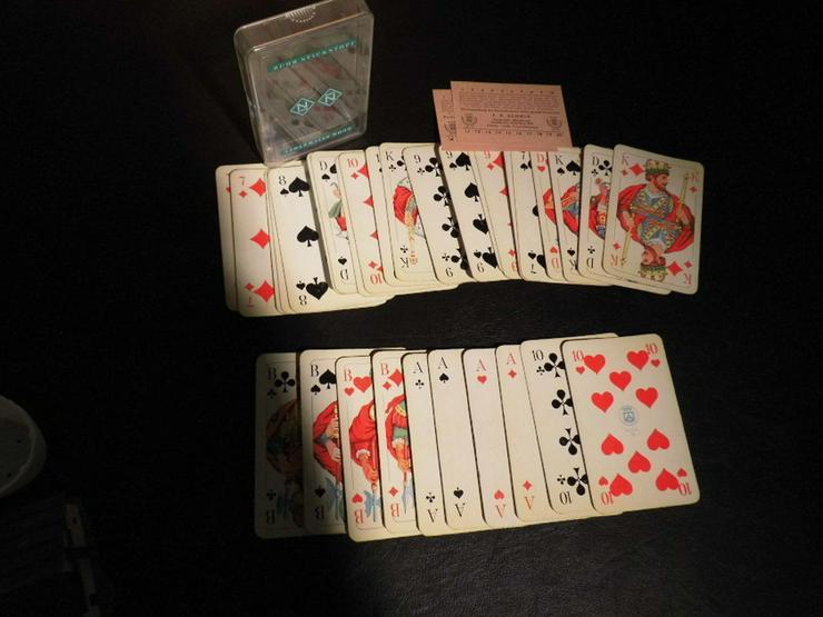Altes Skatspiel, Werbeträger ?Ruhr - Stickstof - Brettspiele & Kartenspiele - Bild 1