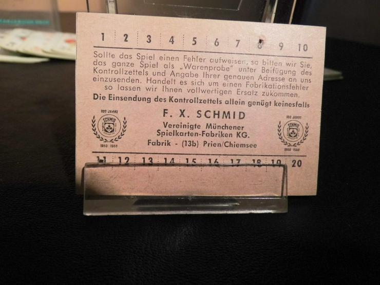 Bild 5: Altes Skatspiel, Werbeträger ?Ruhr - Stickstof