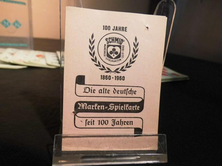 Bild 6: Altes Skatspiel, Werbeträger ?Ruhr - Stickstof
