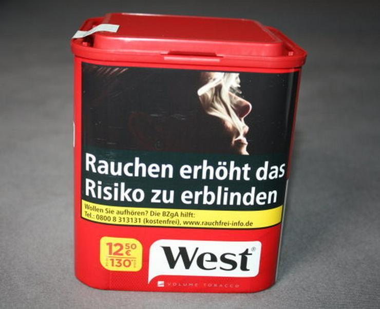 West Volumentabak Red Feinschnitt Tabak 60g NEU