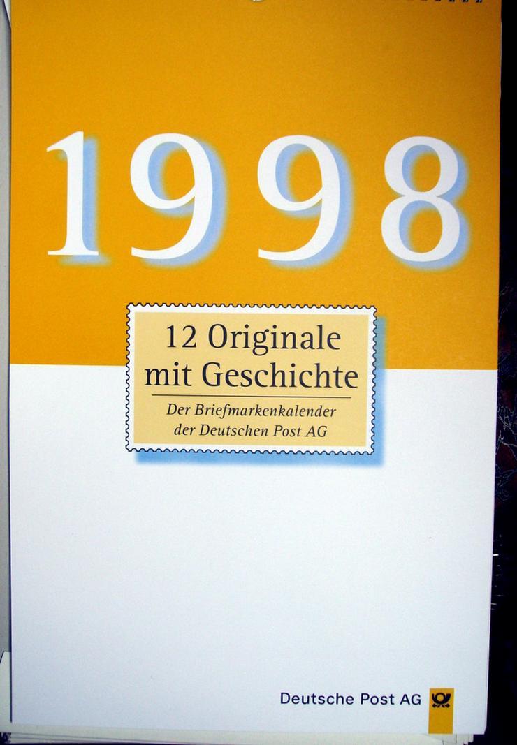 8 Briefmarken-Kalender  Jg. 1992-1998