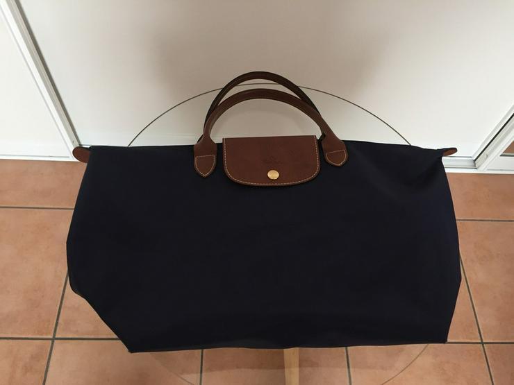 LONGCHAMP-Tasche - neuwertig - blau