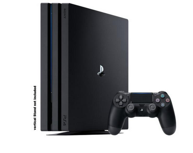 Sony PS4 Pro - Spielkonsole - 1 TB HDD - Schwar