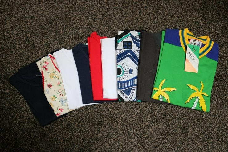 Shirts u. Tops, 9-er-Pack, Gr. 116, NEU