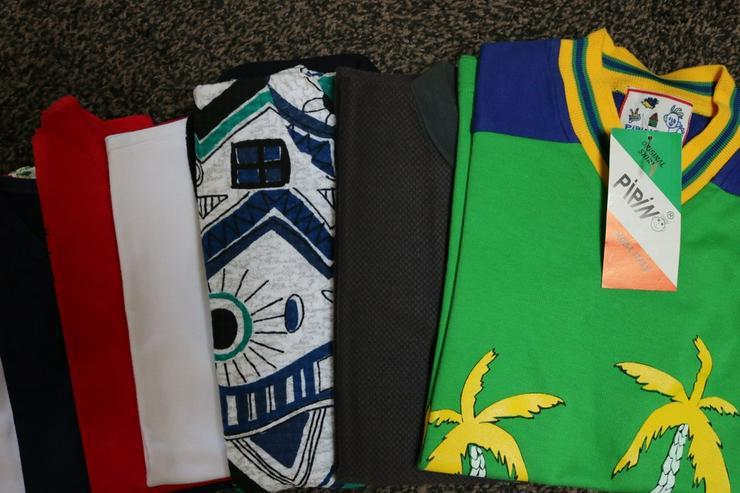 Bild 2: Shirts u. Tops, 9-er-Pack, Gr. 116, NEU