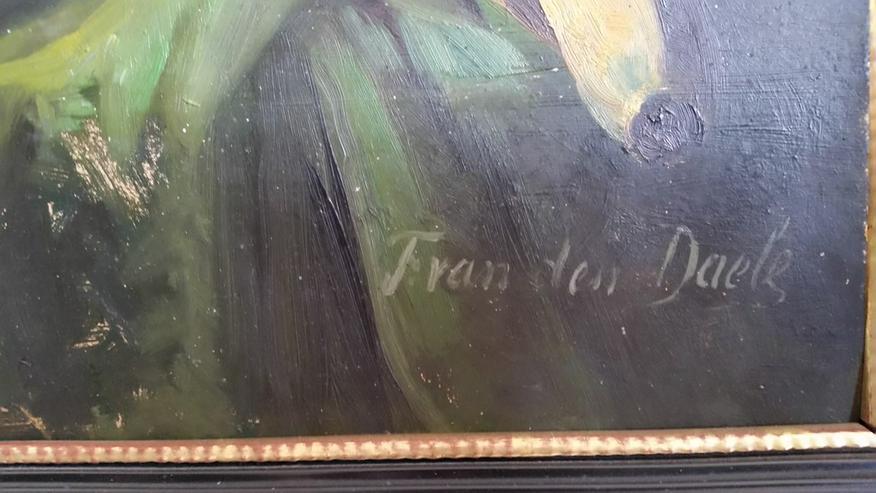 Bild 2: Altes Bild Öl auf Holz