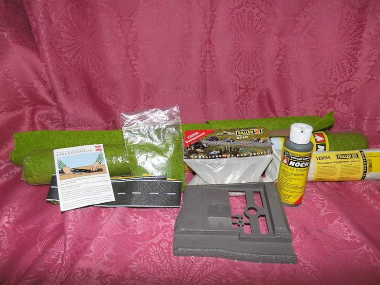 Landschaftsgestaltungsmaterial für Modelleisen