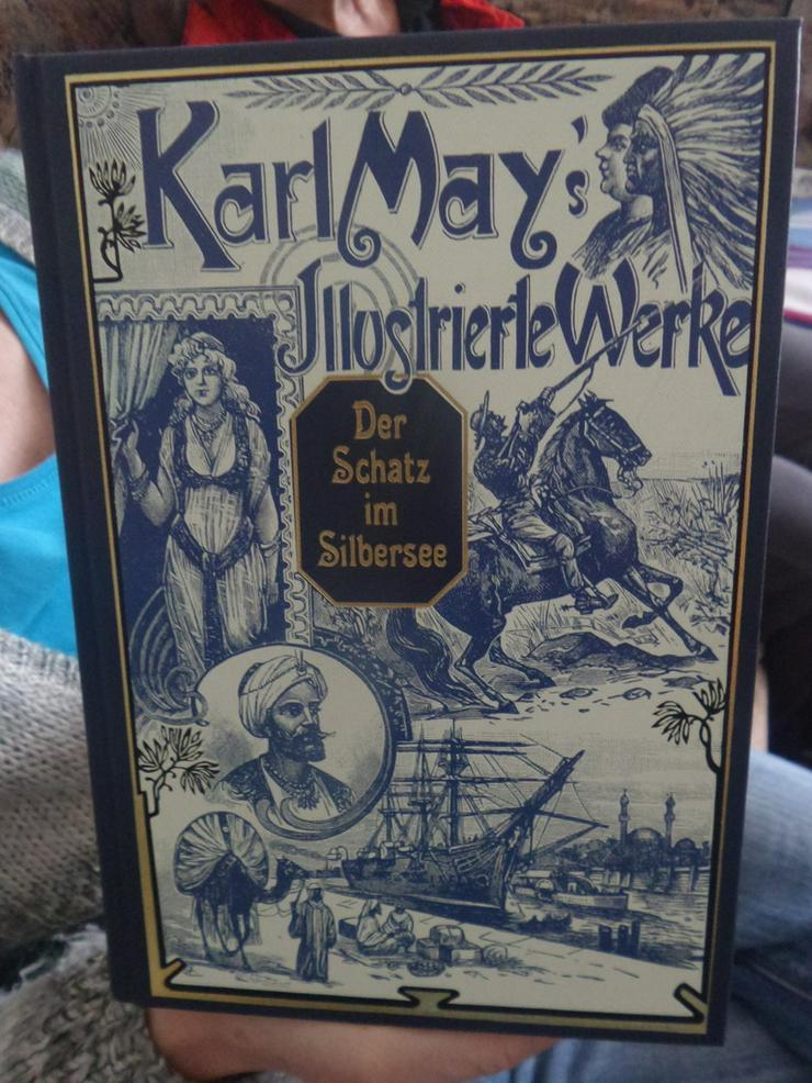 Karl May, 52 Illustrierte Werke und 4 Erstausgaben