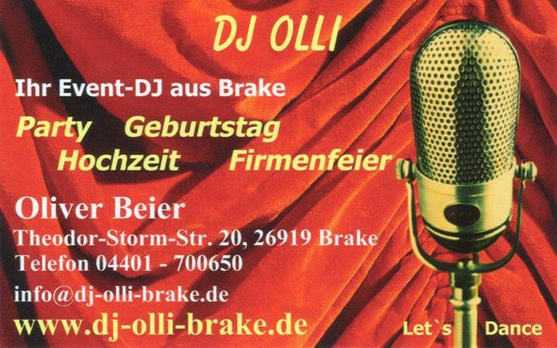 DJ Sandstedt - suche DJ Hochzeit, Geburtstag - Musik, Foto & Kunst - Bild 1