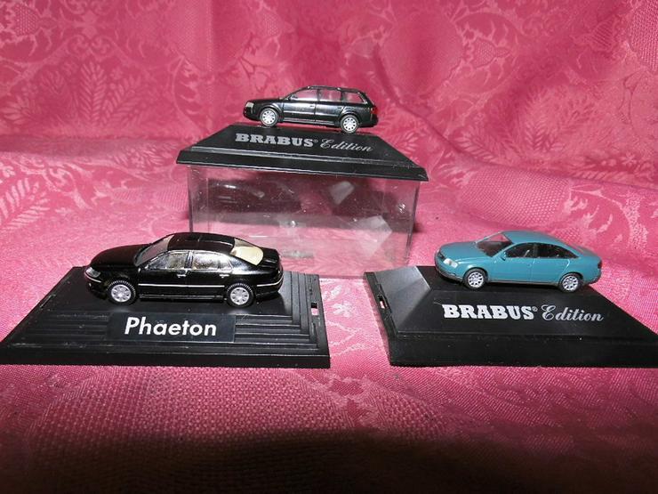 3 Modellautos für Modellbahn Spur H0 von Rietz
