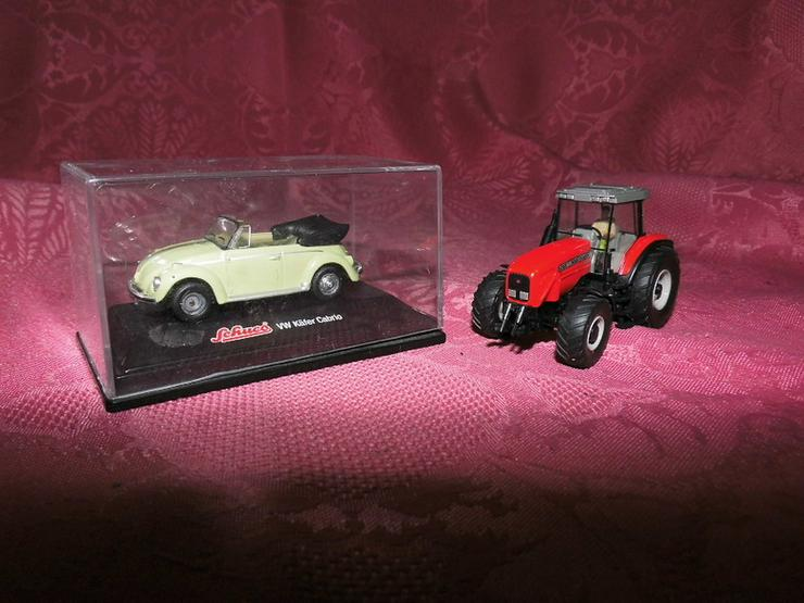 2 Modellautos für Modellbahn Spur H0 von Schuc