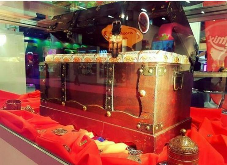 Baklava in Schatztruhen für Events & Hochzeit