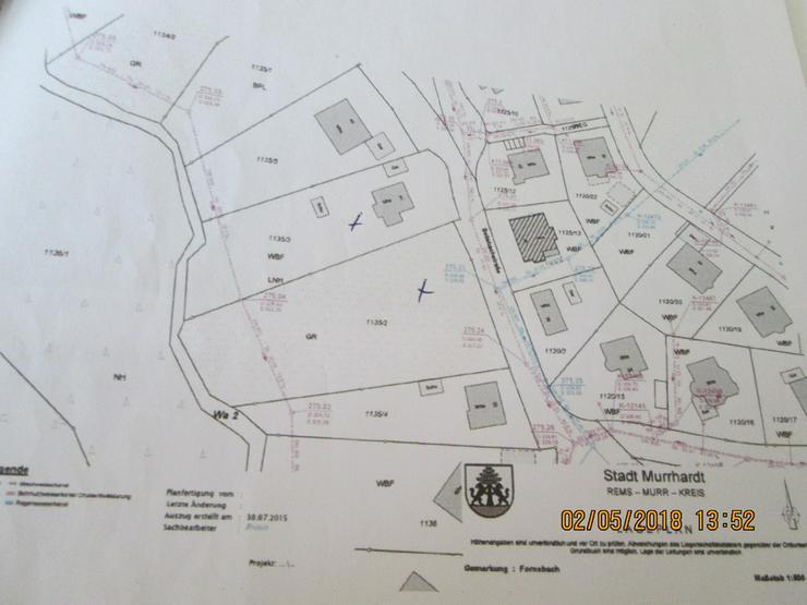 Bild 4: 2 Bauplätze in Murrhardt - Fornsbach Randlage