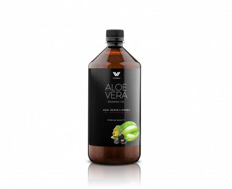 Aloe Vera Drink mit Honig, Acai und Agave (BIO)
