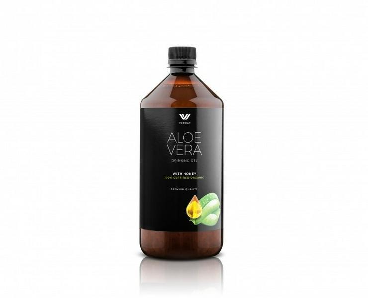 Aloe Vera Drinking Gel mit Honig (BIO)