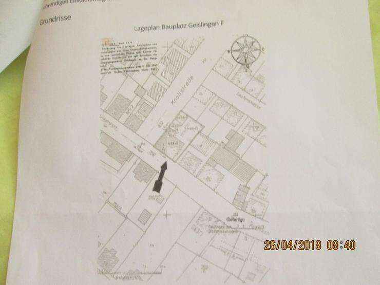 Bild 2: Bauplatz voll erschlossen in Geislingen